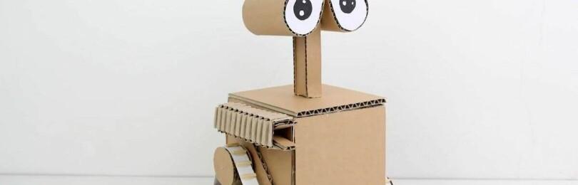Интересные поделки-роботы своими руками