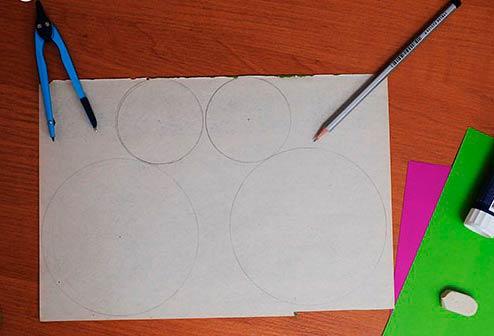 круги на бумаге