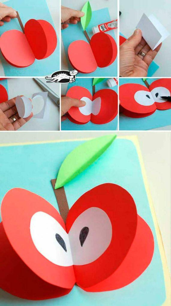 Аппликация фрукты