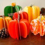 Овощи из бумаги
