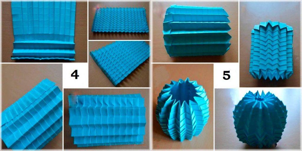 Создание шара из бумаги