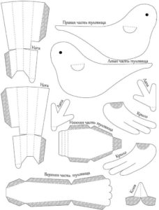 Птицы из бумаги