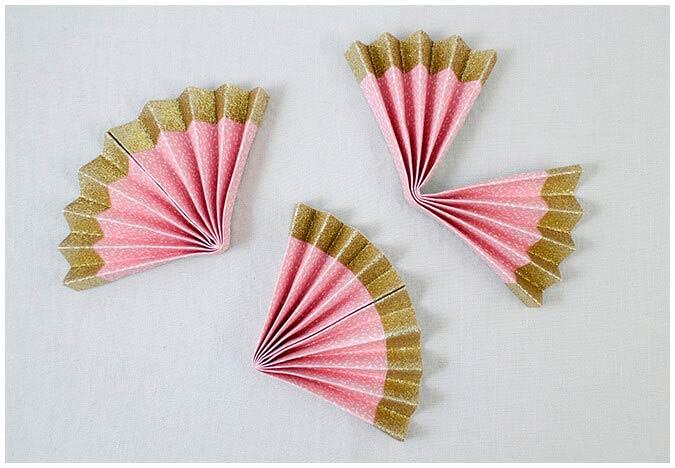 Зонтик из бумаги
