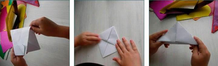 Пилотка из бумаги