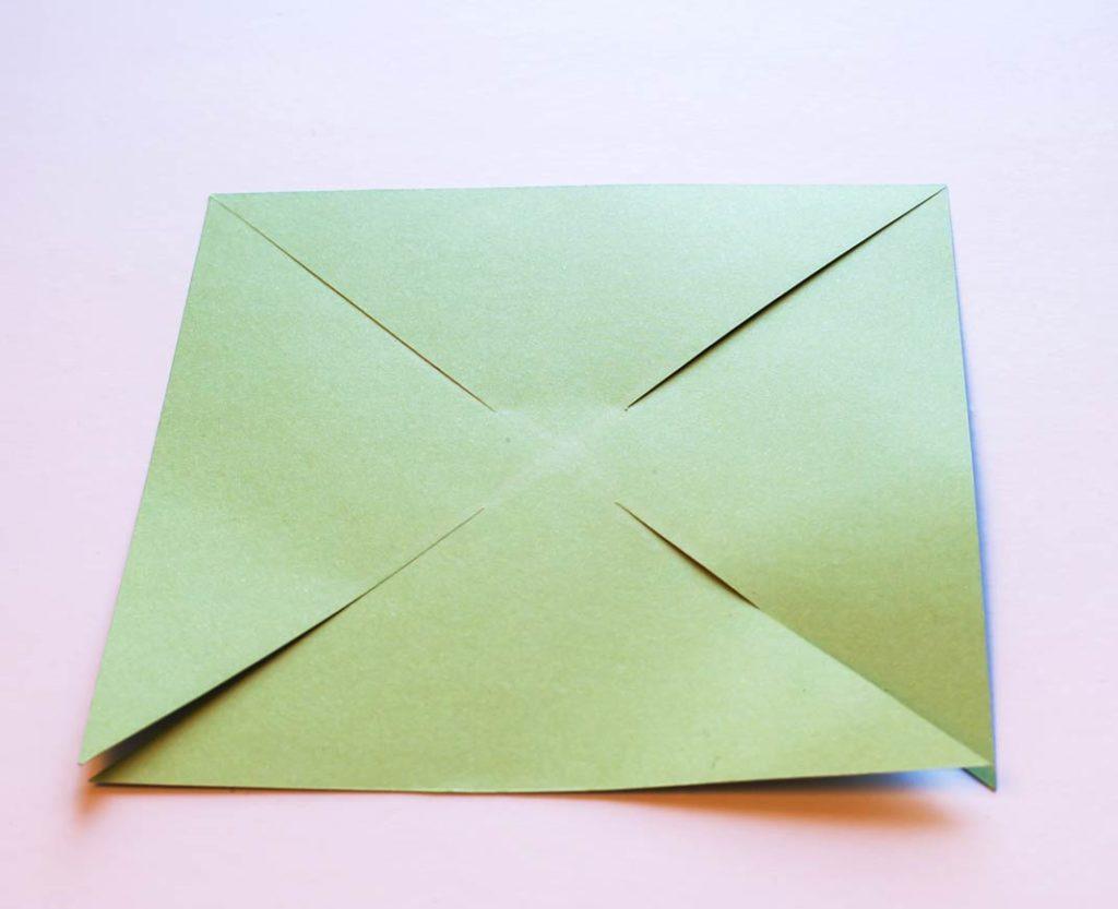 Вертушка из бумаги