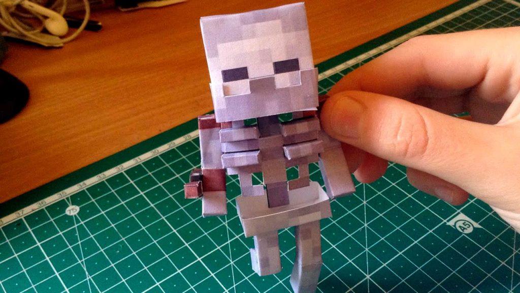 Скелет из Майнкрафт