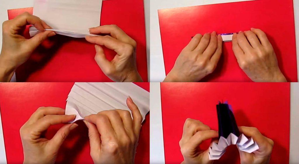 Делаем корзинку из бумаги