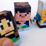 MineCraft для вырезания и склеивания