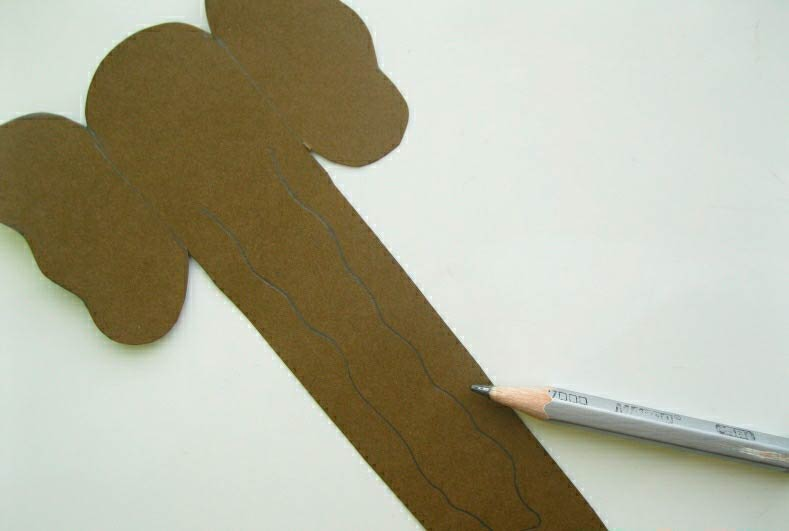 Бумажный слон закладка