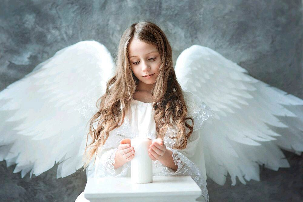 Крылья ангела для детского костюма