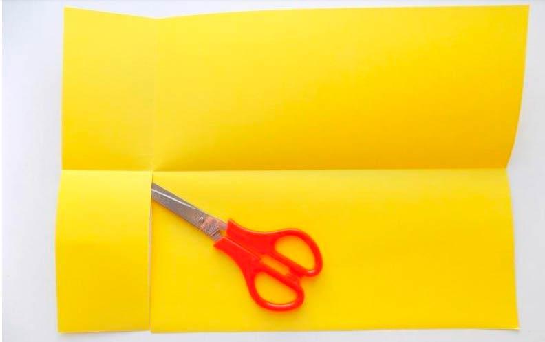 Гармошка ежик из бумаги