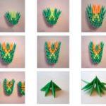 Модульное оригами дракона