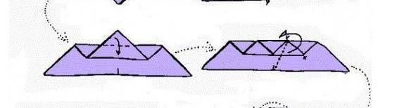 Мышь оригами