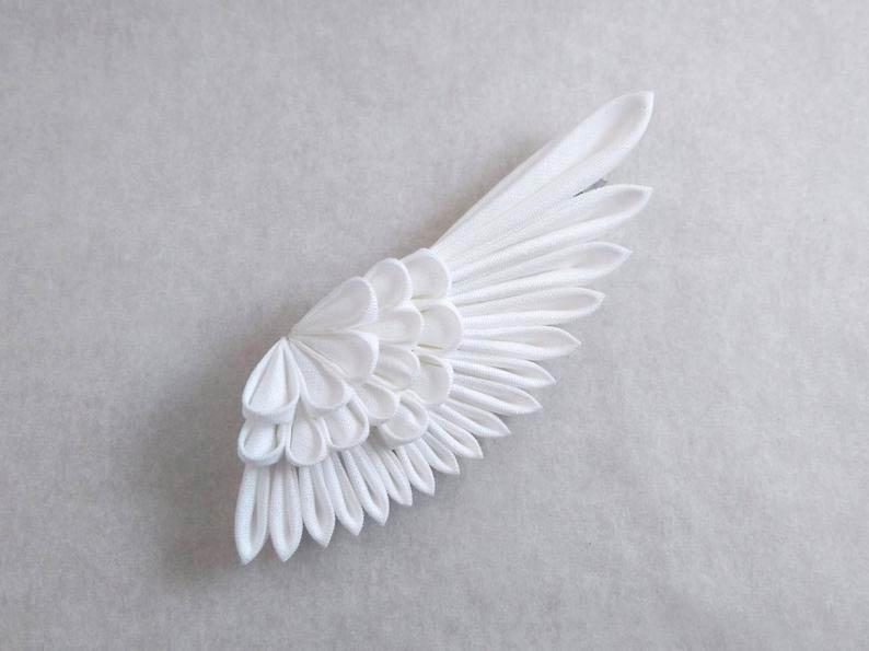 Крылья ангела из салфеток