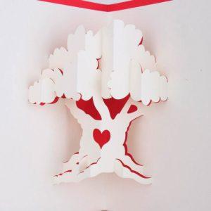 Дерево киригами
