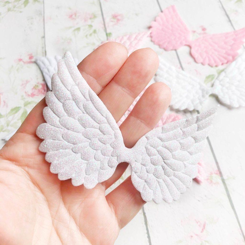 Крылья ангела из полимера