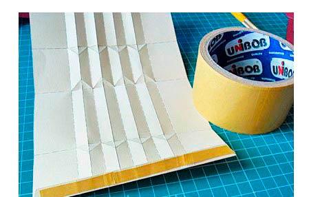 Создание гармошки из бумаги