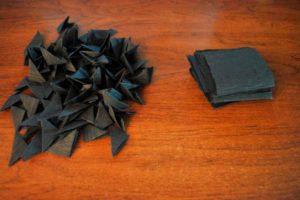 Бумага черная с модулями