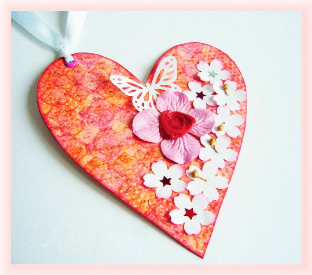 Декорирование сердечка