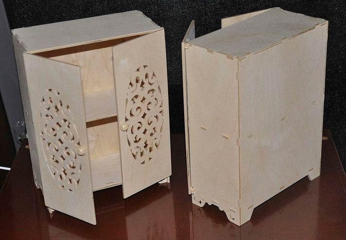 Шкафы из картона