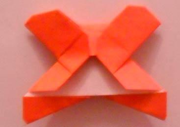 Оригами мишка