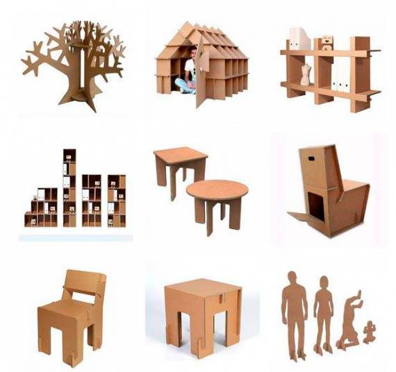 Игрушки из гофрированного картона