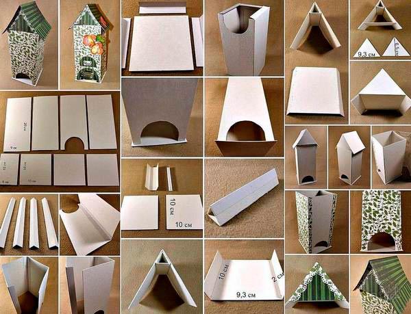 Дозатор для чайных пакетиков из картона