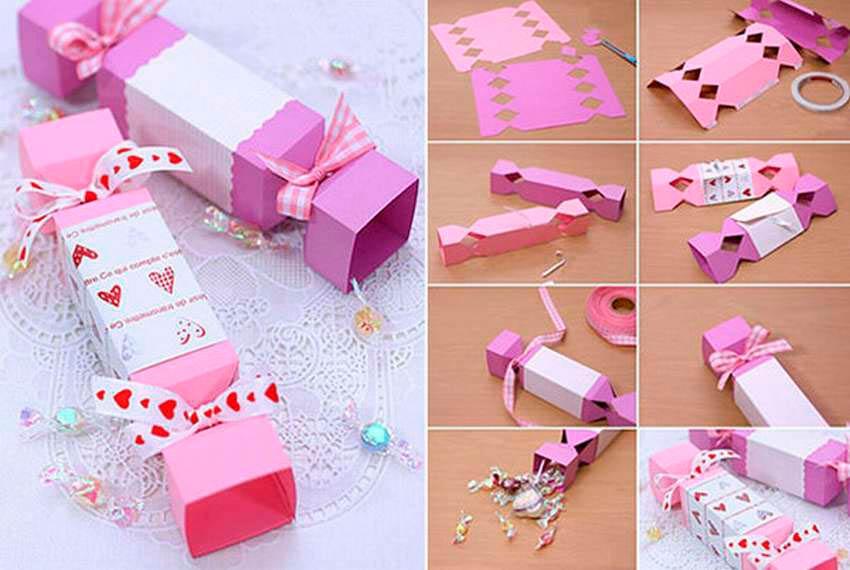 Бутафорские конфеты из картона