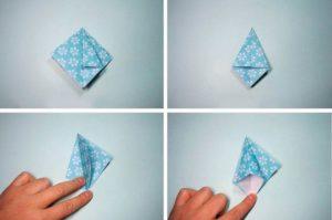 Елочка из бумаги