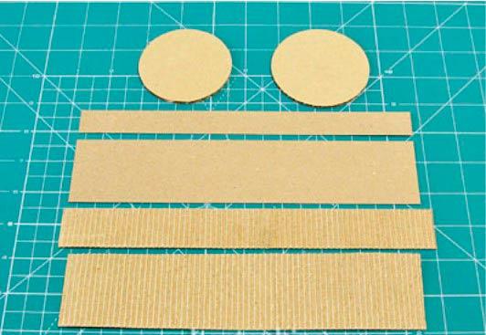 Поделки из гофрированного картона