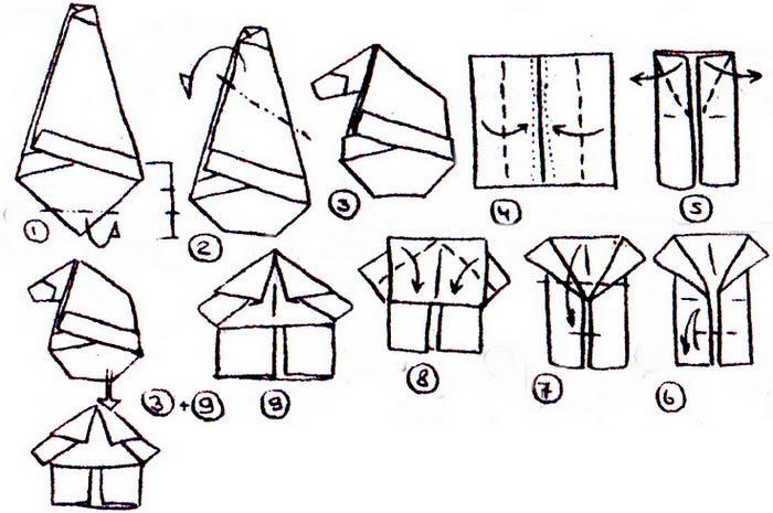 Гномы из бумаги