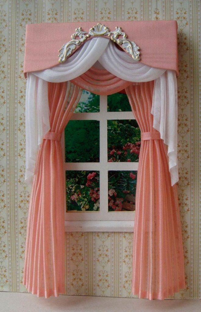 Вариант декорирования окна
