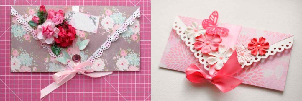 Оформление подарочного конверта
