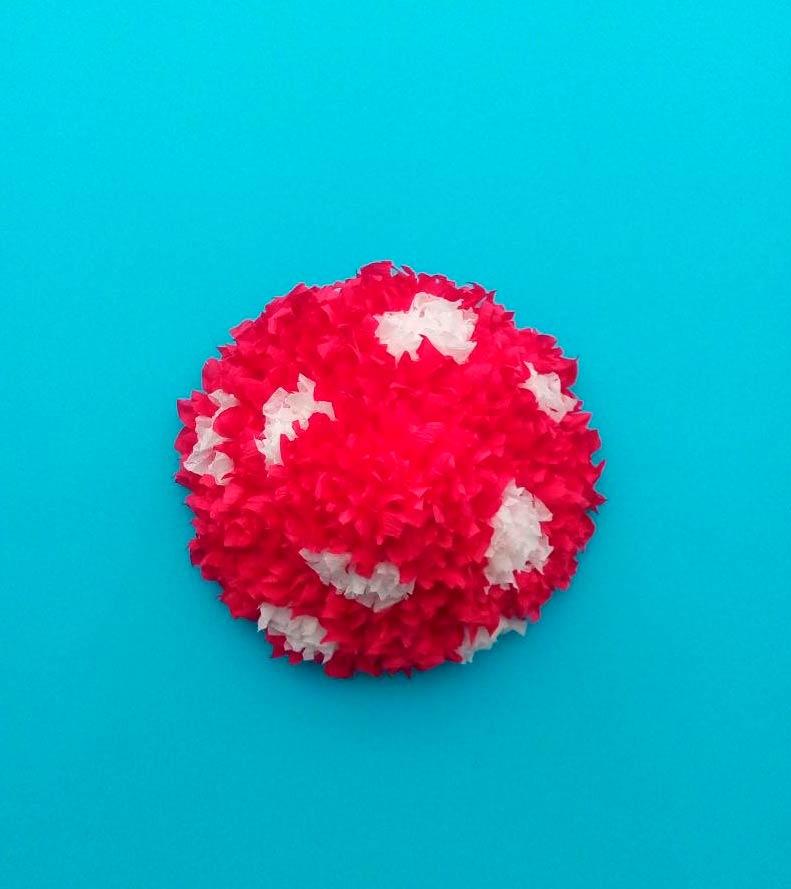 Бумажный гриб