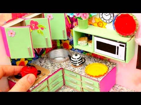 Кухня из спичечных коробков