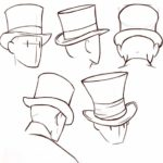Шляпа-цилиндр на голову