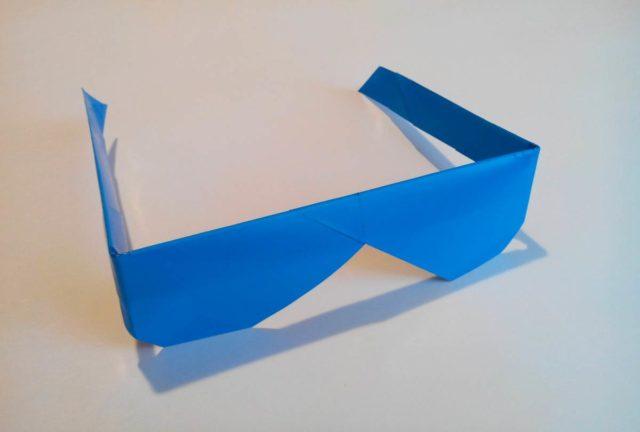 Очки оригами