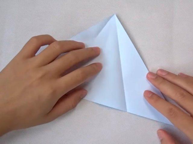 Сборка оригами стрекозы