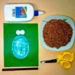 Создание аппликации черепашки