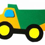 Аппликация грузовика