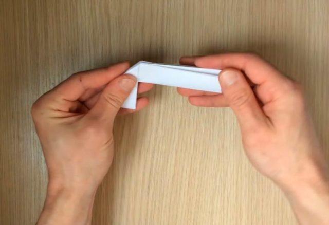 Сборка пистолета оригами