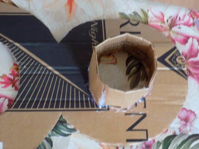 Сборка картонной восьмерки