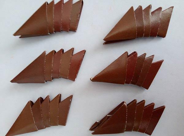 Модульное оригами краб