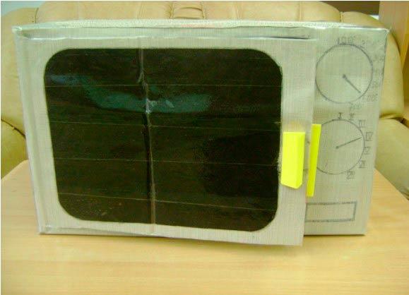 Микроволновая печь из картона