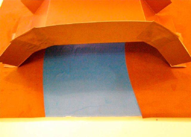 Создание бумажного моста через реку