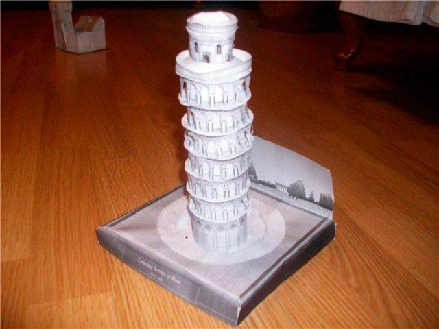 Макеты башен из бумаги