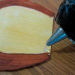 Маска обезьянки из картонной тарелки