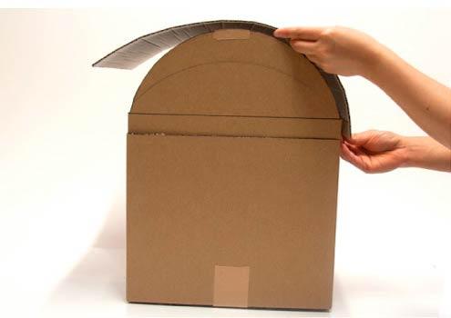 Создание сундука из коробки