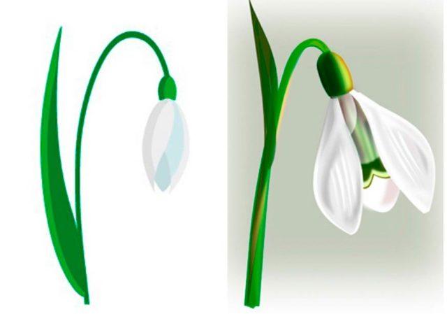 Шаблон цветов для вырезания