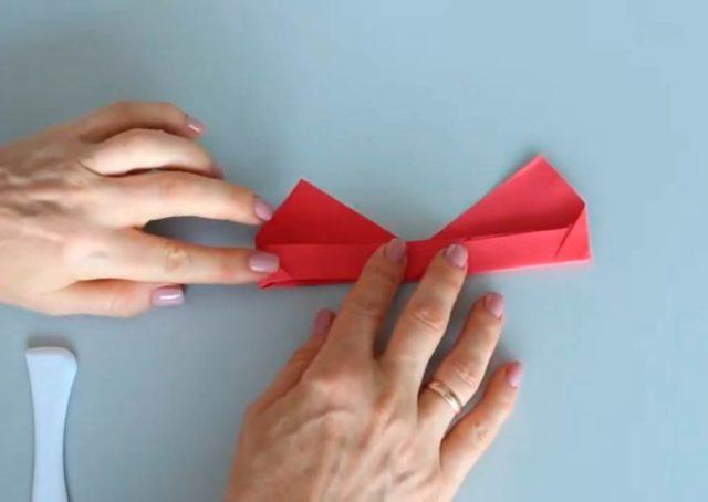 Бумажные очки оригами